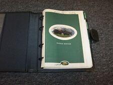 1996 Land Rover Range Rover Owner Owner's Operator Guide Manual SE HSE 4.0L 4.6L