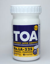 TOA Glue Latex Hygienic Adhesive Premium Quality General Purpose 4 OZ.