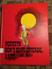 ROCKETS DON'T GO TO CHICAGO ANDY  Jane Thayer, 1967 HC/DJ