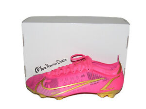 Nike By You ID Mercurial Vapor 14 Elite ACC Pink Gold DD0318-661 Mens Size 10.5