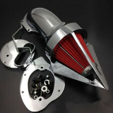 Motorcycle Triangle Spike Air Cleaner For Yamaha V-Star 1100 Dragstar 1100 99-UP