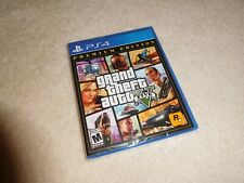 Grand Theft Auto V PREMIUM EDITION GTA 5 Sony PS4 Game BRAND NEW FACTORY SEALED!