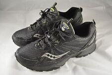 Mens SAUCONY TR8 Excursion Trail Running Shoes Black Size 12 US 46.5 EUR