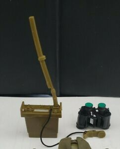 """1/6 SCALE GI JOE Field RADIO and More Gear accessories for 12"""" ACTION FIGURE!"""