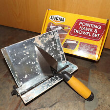 Spectra DIY Brick Layers Mortar Pointing Guide - Hawk & Trowel Set