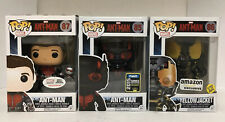 x3 NEW FUNKO POP MARVEL ANT-MAN YELLOWJACKET EXCLUSIVE RARE VAULTED