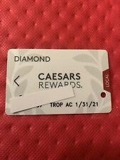 Caesars Rewards Diamond Card Expires 01/2021 Tropicana Ac©�2020