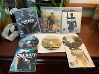 Call of Duty 3 Game LOT PS3 Playstation 3 Black Ops  Modern Warfare 2 MW3 Bundle