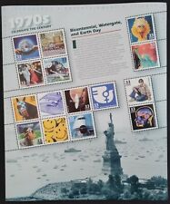 Celebrate the Century 1970's - Scott #3189  Pane of 15 stamps MNH