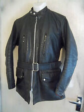 VERY RARE VINTAGE 50'S HIGHWAYMAN LEATHER ROADMASTER MOTORCYCLE JACKET SIZE M