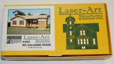 Laser Art Structures 604 HO Scale Callahan House Building Kit
