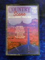 Country Scene 20 Classic Tracks Dr Hook Joe South RARE AUDIO CASSETTE TAPE ALBUM