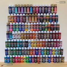 DecoArt Crafters Acrylic Paint 2oz 59ml Pot All Colours