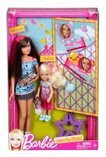 BARBIE SISTERS FUN PHOTO SKIPPER & CHELSEA  2-DOLL SET *NEW*
