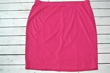 AUTOGRAPH Stretch Mid Panel Rasberry Skirt Size 24 NEW rrp$59.99 Comfy Waistband