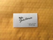 Jackie Robinson Business Card