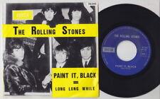 The ROLLING STONES * Paint It Black * 1966 Belgian Original 45 *