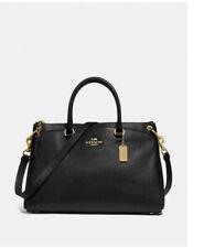 ❤️ COACH Mia Satchel F77884 tote shoulder bag Leather Handbag laptop briefcase