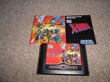 Sega Mega Drive Game 'X-Men'  (CARTRIDGE & MANUAL ONLY)    FREE UK P&P