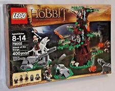 SEALED 79002 LEGO Hobbit ATTACK WARGS Bifur Dwarf Yazneg Thorin 400 pc RETIRED