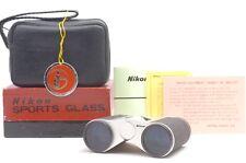 @ Complete Set! @ Vintage Nippon Kogaku Nikon Sports Glass 3x Compact Binoculars