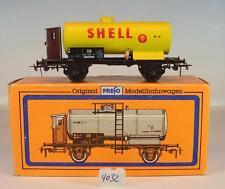 Piko / Prefo H0 Kesselwagen mit Brh Shell 2-achsig der DB OVP #4032