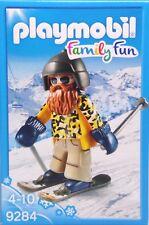 Playmobil deportes de invierno 9284 hizo esquiador con snowblades guantes gorra ski nuevo