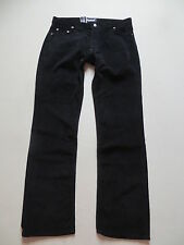 original POWER Cord Jeans Hose, W 40 /L 34, Schwarz ! NEU ! Model 921 Cordhose !