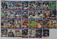 1990 Pro Set Series 1 & 2 Update New York Giants Team Set 32 Football Cards