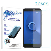 2-Pack For Alcatel IdealXtra 5059R Tempered Glass Screen Protector