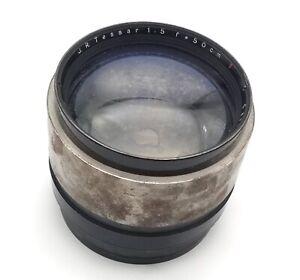 Super Rare Large Format lens Carl Zeiss Jena J.R. Tessar T 50cm f5.0 Ambrotype
