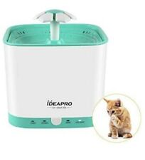 Ideapro Pet Fountain Cat Water Fountain Automatic Electric Water Bowl 2 Liter