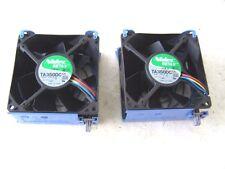 Computer Cooling Fans 12VDC 1.0A 92mm. Nidec BETA V TA350DC Case Fans lot of 2