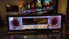 Jack Bot JB -Lighted Pinball Color Changing LED Speaker Panel -ULTIMATE
