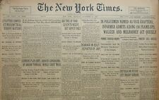 11-1930 November 27 POLICE NAMED AS VICE GRAFTERS. PLOTTERS CONFESS MOSCOW TRIAL