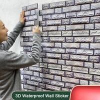 Geometric 3D Wall Sticker Self-adhesive Waterproof Home Decoration DIY Remov dr