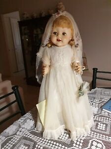 "Vintage 1950s 21"" Pedigree Doll"