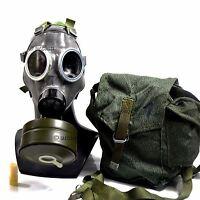 Vintage soviet era army gas mask 40mm gas mask filter MS-4. Mask MC-1.