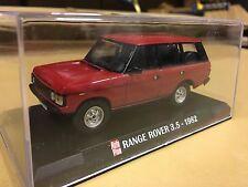 Range Rover 4 door 1982 - Red in crystal box