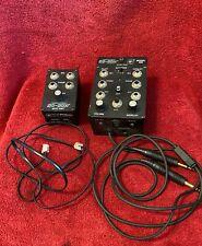 DAVID CLARK DC-COM MODEL 200 INTERCOM WITH MODEL 200EX INTERCOM