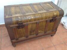 antiguo baul arcon clasico marca Carrascal correcto, vintage, coleccion, decora