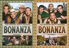 BONANZA: THE OFFICIAL SIXTH SEASON, VOL. 1 AND 2 - 2 PACK NEW DVD