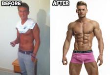 Natural Body Building Pills Muscle Mass Gain Fat Burner Supplements Men 90 Caps