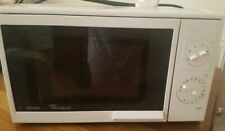 Philips Whirlpool white 700W microwave +2 free adaptors value £10-collection or