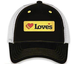 "2021 #34 Michael McDowell Checkered Flag ""Loves"" Trucker SnapBack Adjustable Hat"