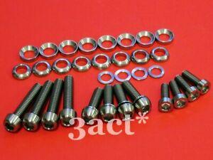 Titanium/Ti Bolt Kit- Sram Avid Elixir Code Juicy Disc Brake Caliper Mount Lever