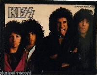 KISS Lick It Up Original Vintage 1980`s Photo Card Patch