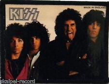 KISS Lick It Up Original Vintage 1980`s Photo Card Patch(not shirt badge lp cd)