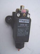 Capteur fin de course LEGRAND 348 49 CENELEC EN 50047 + support fixation