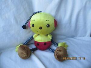 "Rolie Polie Olie Plush Olie DD26004 Nelvana In Trust 14"" Disney Applause"